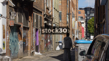 Spear Street In The Northern Quarter, Manchester, UK
