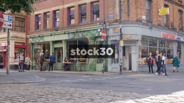 Folk & Soul Restaurant & Bar In The Northern Quarter, Manchester, UK