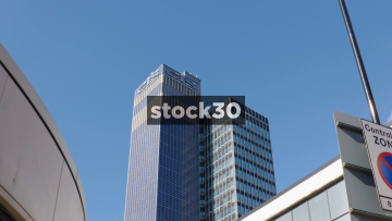 Zoom In To The Cooperative Insurance CIS Building In Manchester, UK