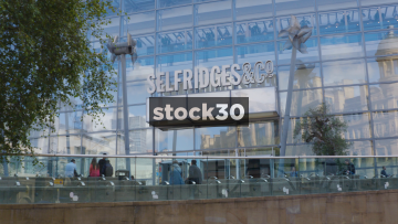 Selfridges & Co At Exchange Square In Manchester City Centre, UK