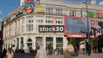The Printworks In Manchester City Centre, UK