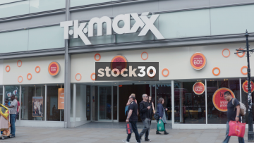 TK Maxx On Market Street In Manchester, UK
