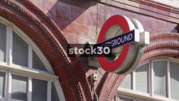 Camden Town London Underground Signage, UK