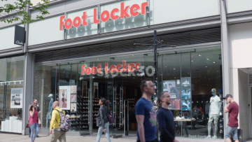 Foot Locker On Market Street In Manchester, UK