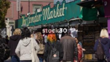 The Camden Market On Camden High Street, UK