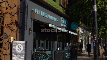 Gino D'Acampo My Restaurant In Camden, UK