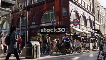 Covent Garden London Underground Station, UK
