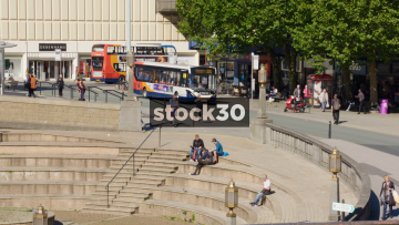 Stockport Town Centre Near Merseyway Shopping Centre, UK
