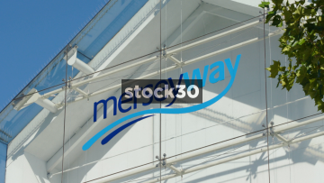 Merseyway Shopping Centre In Stockport - Close Up And Wide, UK