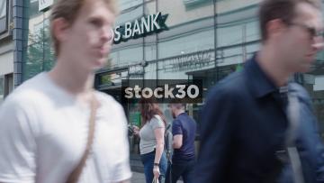 Lloyds Bank On Market Street In Manchester, UK