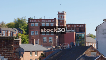 Frederic Robinson Ltd Unicorn Brewery Building In Stockport, UK