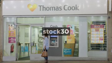 Thomas Cook On Market Street In Manchester, UK