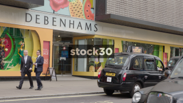 Debenhams On Oxford Street In London, UK