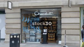 Hotel Chocolat On Market Street In Manchester, UK