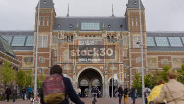 The Rijksmuseum In Amsterdam, Netherlands