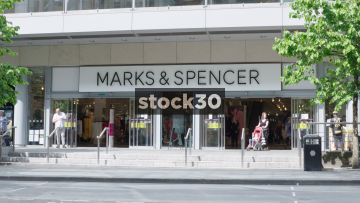 Marks & Spencer On Market Street In Manchester, UK