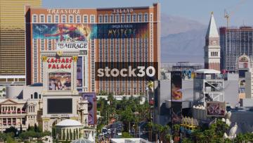 Treasure Island Hotel And Casino In Las Vegas, USA