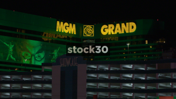 MGM Grand Hotel And Casino On Las Vegas Boulevard, USA