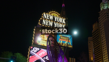 New York New York Hotel And Casino In Las Vegas, USA