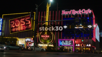 The Hard Rock Cafe On Las Vegas Boulevard, USA