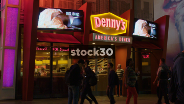 Denny's America's Diner In Las Vegas, USA