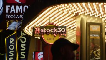 Hard Rock Cafe Las Vegas Entrance, USA