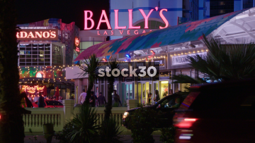 Bally's Hotel And Casino In Las Vegas, USA