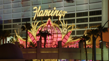 The Flamingo Hotel And Casino In Las Vegas, USA