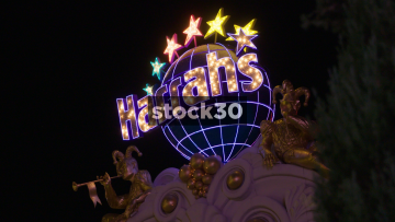 Harrahs Hotel And Casino In Las Vegas, USA