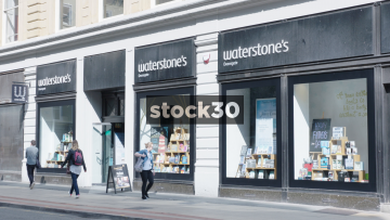 Waterstone's On Deansgate In Manchester, UK