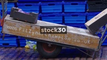 Northampton Market - 3 Close Up Shots, UK