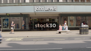 John Lewis On Oxford Street In London, UK
