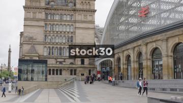 Liverpool Lime Street Station Main Entrance, UK
