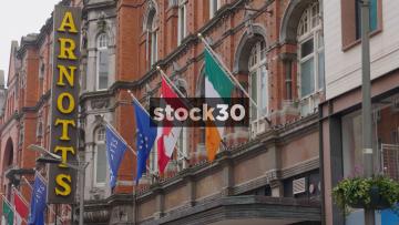 Arnotts Department Store On Henry Street In Dublin, Ireland
