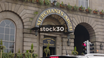 Merchants Arch Bar & Restaurant In Temple Bar, Dublin