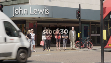 John Lewis Holles Street Entrance In London