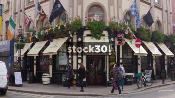 Slattery's Bar On Capel Street In Dublin, Ireland