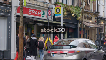 SPAR Convenience Store On Parliament Street In Temple Bar, Dublin, Ireland