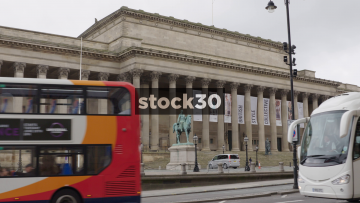 St.George's Hall On Lime Street In Liverpool, UK