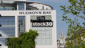 Hudson's Place Department Store In Rotterdam, Netherlands