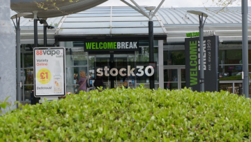 Welcome Break Services, South Mimms, Main Entrance, UK