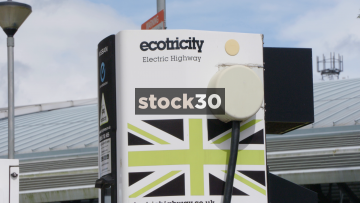 Ecotricity Electric Vehicle Charging Point, UK