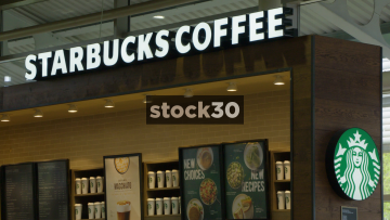Starbucks Coffee At Welcome Break South Mimms Services, UK