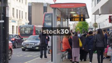 Uxbridge High Street Bus Stop, UK