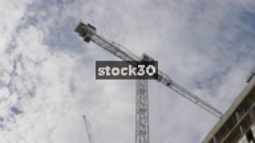 A Crane Working In London, UK