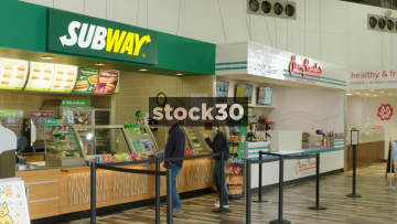 Subway At Welcome Break South Mimms Services, UK