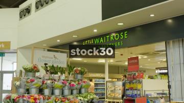 Little Waitrose In Welcome Break South Mimms Services, UK