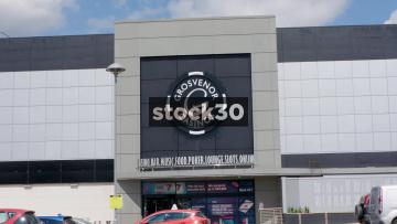 Grosvenor Casino Sheffield, Zoom In To Logo, UK