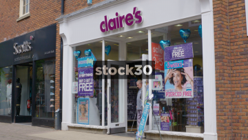 Claire's On Castle Walk In Newcastle Under Lyme, UK
