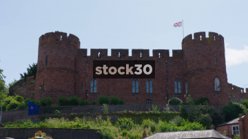 Shrewsbury Castle, Wide Shot, UK
